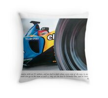 Fernando Alonso Throw Pillow
