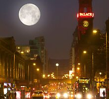 Mancunian Moon.  by Dale North Photography