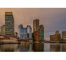 View on Boston tea party Photographic Print