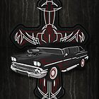 Hearse and Cross by Mehdals