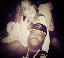 Rick Ross and Lindsay Lohan by JohnnyBlaze5000