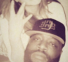Rick Ross and Lindsay Lohan Sticker