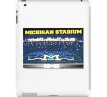 Michigan Stadium iPad Case/Skin