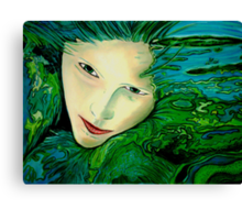 Aqua Allure Canvas Print