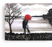 Bound by Love Canvas Print