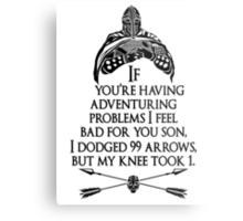 Arrowborn Metal Print