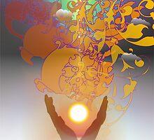 Healing Hands by Arie van der Wijst