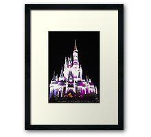 Cinderella's Castle in December Framed Print