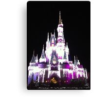 Cinderella's Castle in December Canvas Print