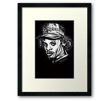 Eazy Compton Cap E Framed Print