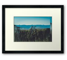 Surreal Scenery  Framed Print