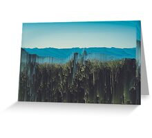 Surreal Scenery  Greeting Card