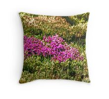 MOORLAND HEATHER Throw Pillow