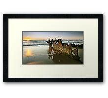 Rusting Dawn Framed Print
