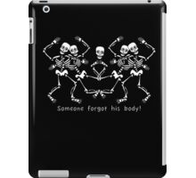 The Body-less Head iPad Case/Skin
