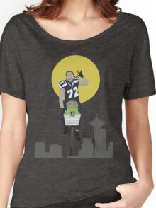 Michael Bennett Does Victory Lap With ET Women's Relaxed Fit T-Shirt