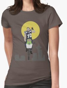 Michael Bennett Does Victory Lap With ET Womens Fitted T-Shirt