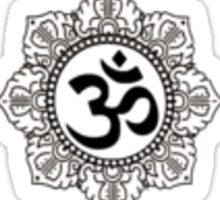 Om Mandala Sticker
