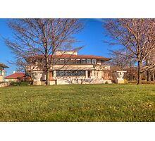 The Westcott House - Springfield, Ohio - designed by Frank Lloyd Wright Photographic Print