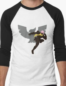 Captain Falcon (Fabulous) - Sunset Shores Men's Baseball ¾ T-Shirt