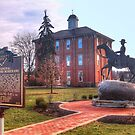 Town Square - Sunbury Ohio by Terence Russell