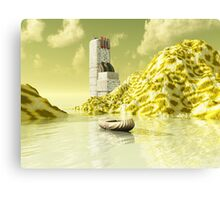Water Treatment Plant Canvas Print
