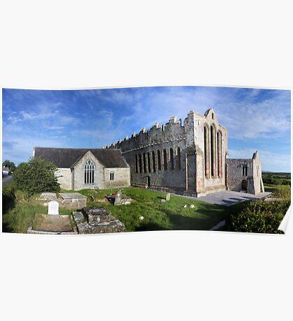Ardfert Cathedral Poster