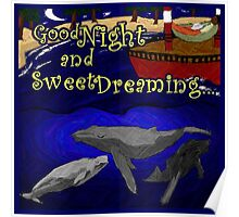 Good Night Wishes Poster Poster