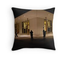 Rooftop vantage point Throw Pillow