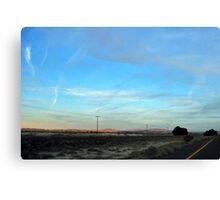 Highway Angels Canvas Print