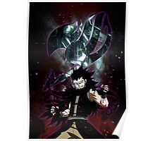 Gajeel- Iron dragon slayer magic Poster