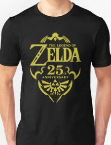 The Legend of Zelda, 25th Anniversary Unisex T-Shirt