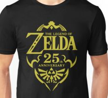 The Legend of Zelda, 25th Anniversary Unisex T-Shirt