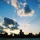 The Chicago Skyline by Amber Finan