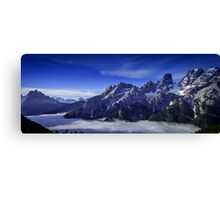 Morning Mystery Canvas Print