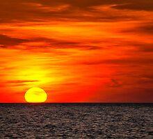 Ocean Sunset by KellyHeaton