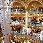 Galleries Lafayette (Mall), Paris by chord0