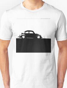 Volkswagen Beetle - Black on light T-Shirt