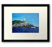 Punta Carena Lighthouse Framed Print