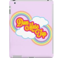 Dom Masc Top iPad Case/Skin