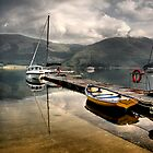 Loch Leven Morning by Thistle Images