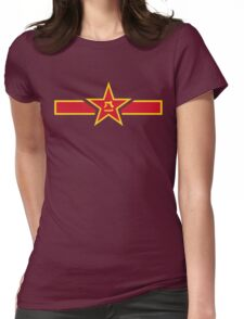 The People's Liberation Army Air Force Womens Fitted T-Shirt