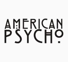 american psycho by andrw