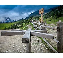Country Turnstile  Photographic Print