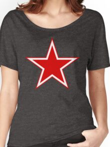Russian Air Force Star Women's Relaxed Fit T-Shirt