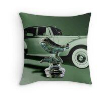 1954 Silver Dawn Throw Pillow