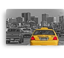 Welcome to San Diego-Yellow Cab Canvas Print