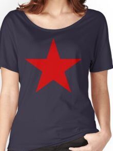 Soviet Air Forces Star Women's Relaxed Fit T-Shirt
