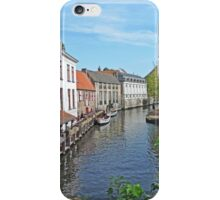 A Bruges Canal iPhone Case/Skin
