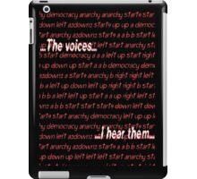 Twitch Plays Pokemon: The Voices, I Hear Them iPad Case/Skin